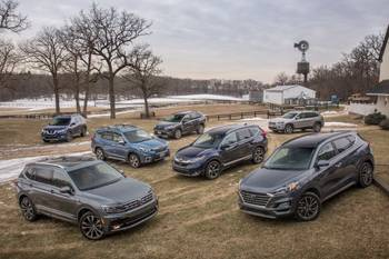 2019 Compact SUVs Compete! Forester, RAV4 and More Try to Topple Tiguan