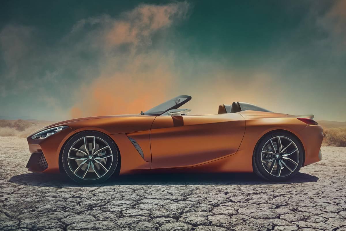BMW Concept Z4 Preview