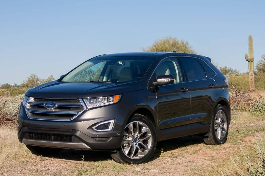 Our view: 2015 Ford Edge