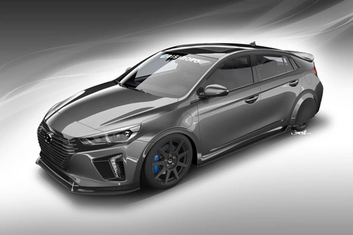 Hyper-Efficient Hyundai HyperEconiq Ioniq to Appear at SEMA