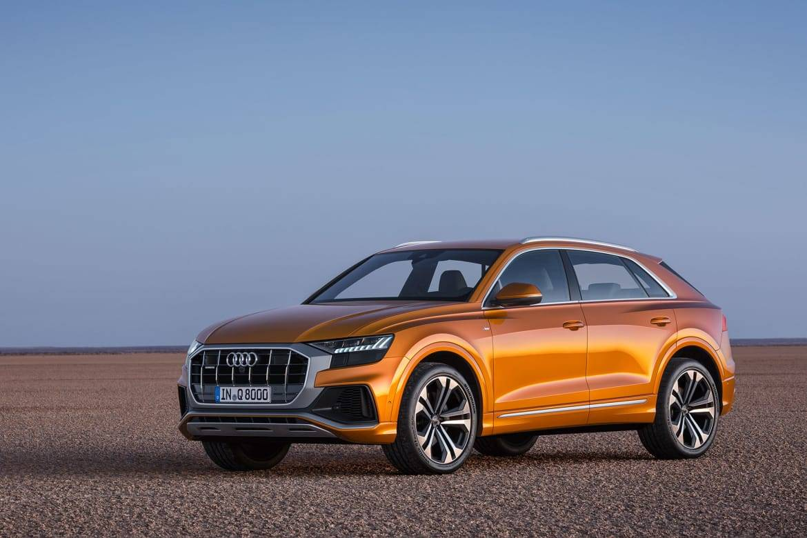 It's Official: The Audi Q8 Is Production-Ready