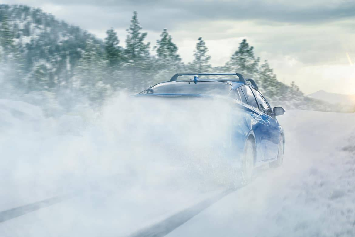 It's Snowtime for the 2019 Toyota Prius