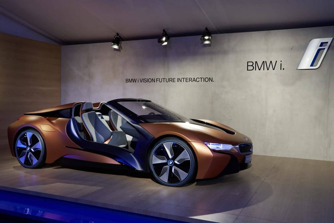 BMW Offers Video Peek at Coming i8 Convertible