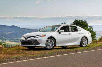 2018 Toyota Camry Review: First Drive
