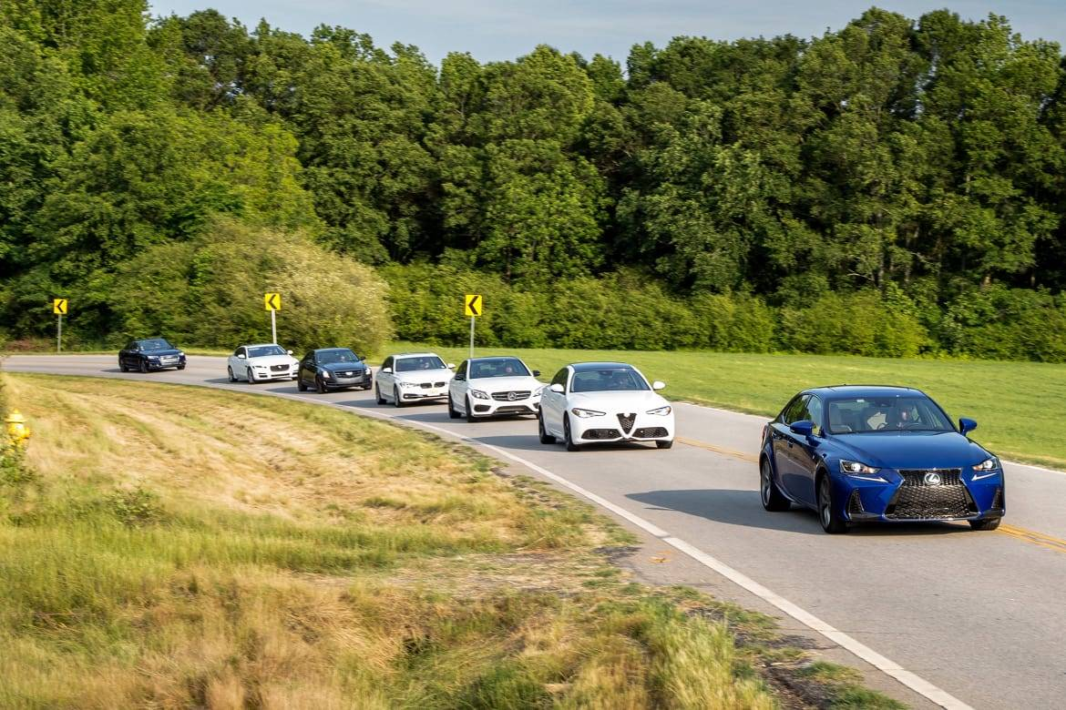 What's the Most Fun-to-Drive Luxury Sports Sedan?