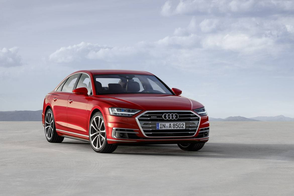 2019 Audi A8's High-Tech Luxury Coming to L.A.