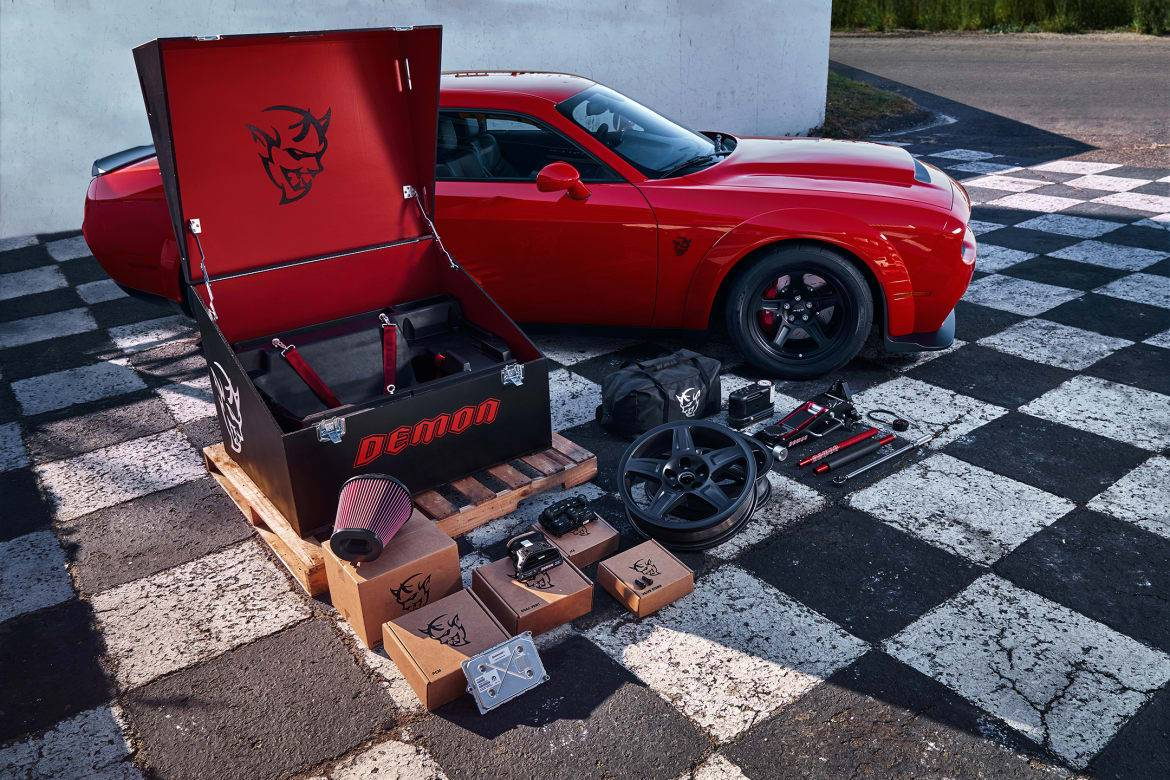 2018 Dodge Challenger Demon Costs A Hell Of A Lot News Cars Com