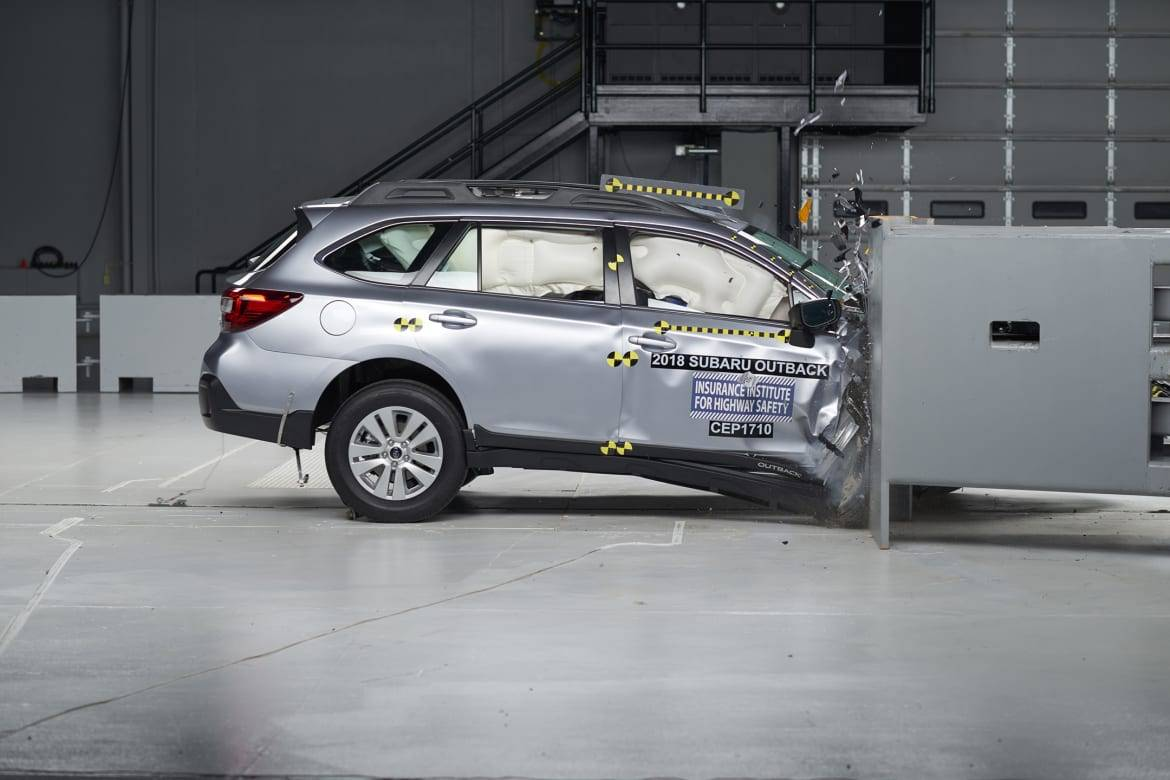 10 Cars Pass IIHS' New Passenger-Side Crash Test