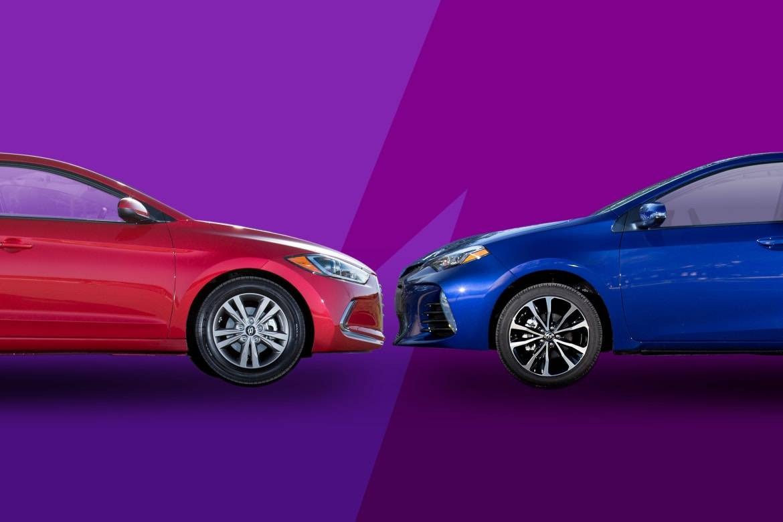 2017 Hyundai Elantra Vs. 2017 Toyota Corolla: Review Faceoff
