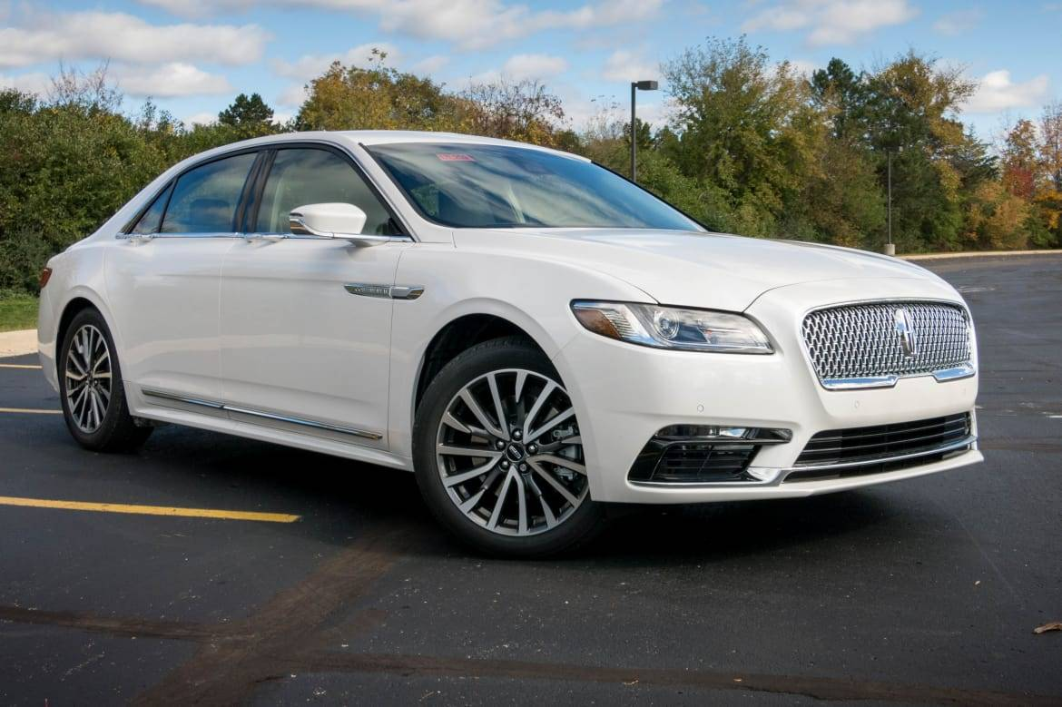 2017 lincoln continental review quick spin news cars com 2017 lincoln continental review quick