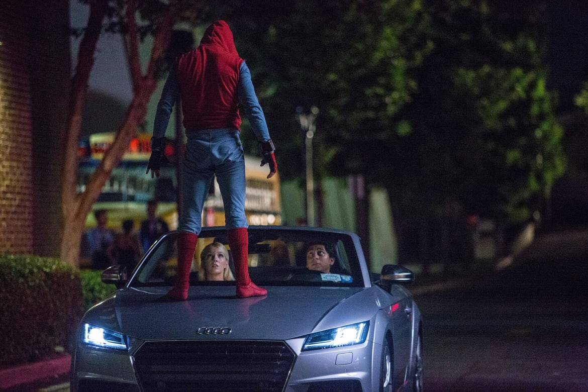 Audi A8 Looks Marvel-ous at 'Spider-Man: Homecoming' Premiere