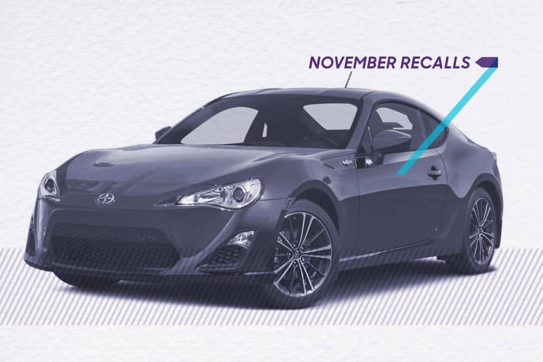 Recall Recap: The 5 Biggest Recalls in November