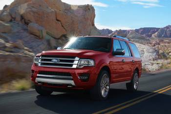 2016 Full-Size SUV Driving Ranges