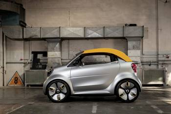 Smart Forease Plus Concept Is the Real-Life Cozy Coupe You Probably Wanted Once Upon a Time