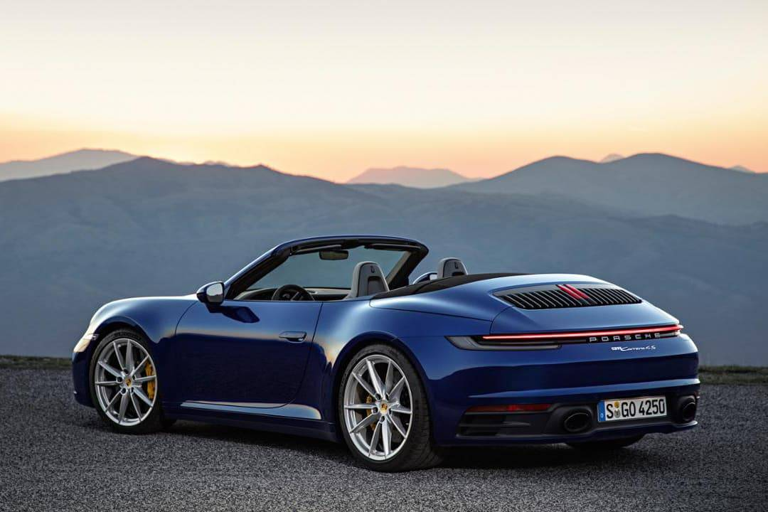 2020 Porsche 911 Carrera S Makes Top Down Change With Cabriolets News Cars Com