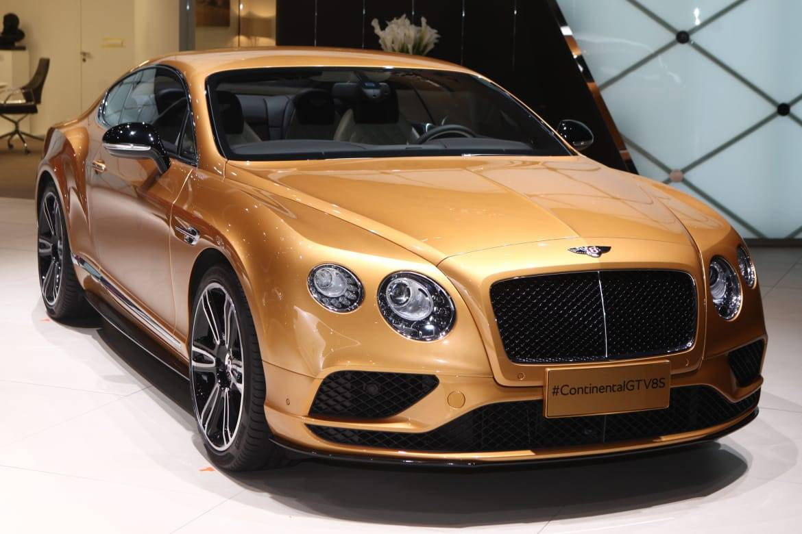 Bentley Continental GT at the Beijing Auto Show 2016 OEM.jpg