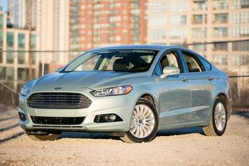 Our view: 2013 Ford Fusion Hybrid