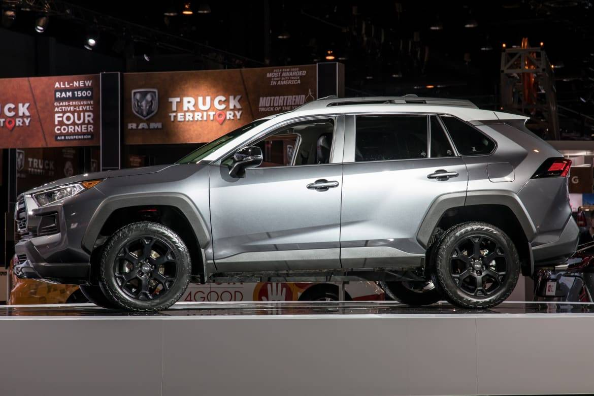 2020 Toyota Rav4 Sequoia Trds One Has The Looks The Other The Goods News Cars Com