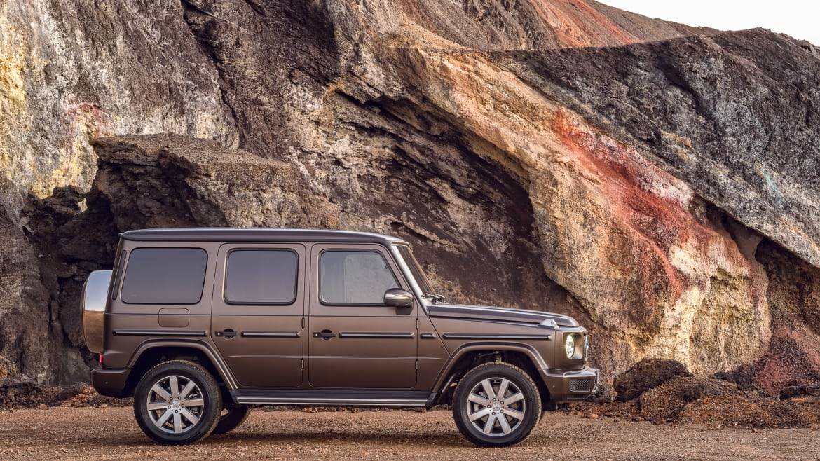 2019 Mercedes Benz G Class The Most Luxurious Box In The World News Cars Com