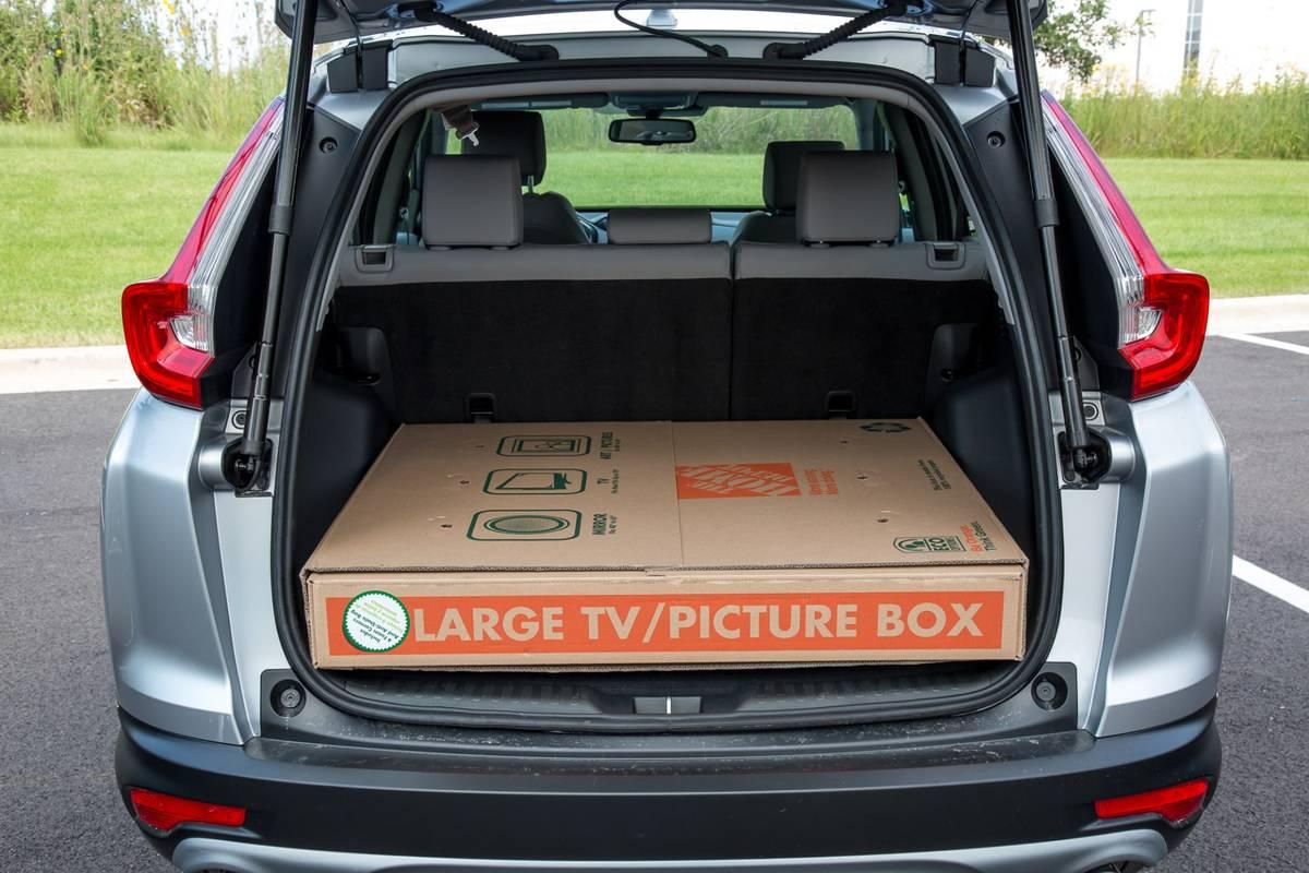 10 Honda CR-V: Real-World Cargo Space  News  Cars.com