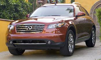 Infiniti Recalls FX35, FX45 SUVs for Faulty Airbags