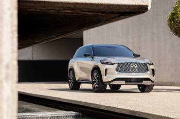 Infiniti QX60 Monograph Signals Full Redesign for 2022 QX60