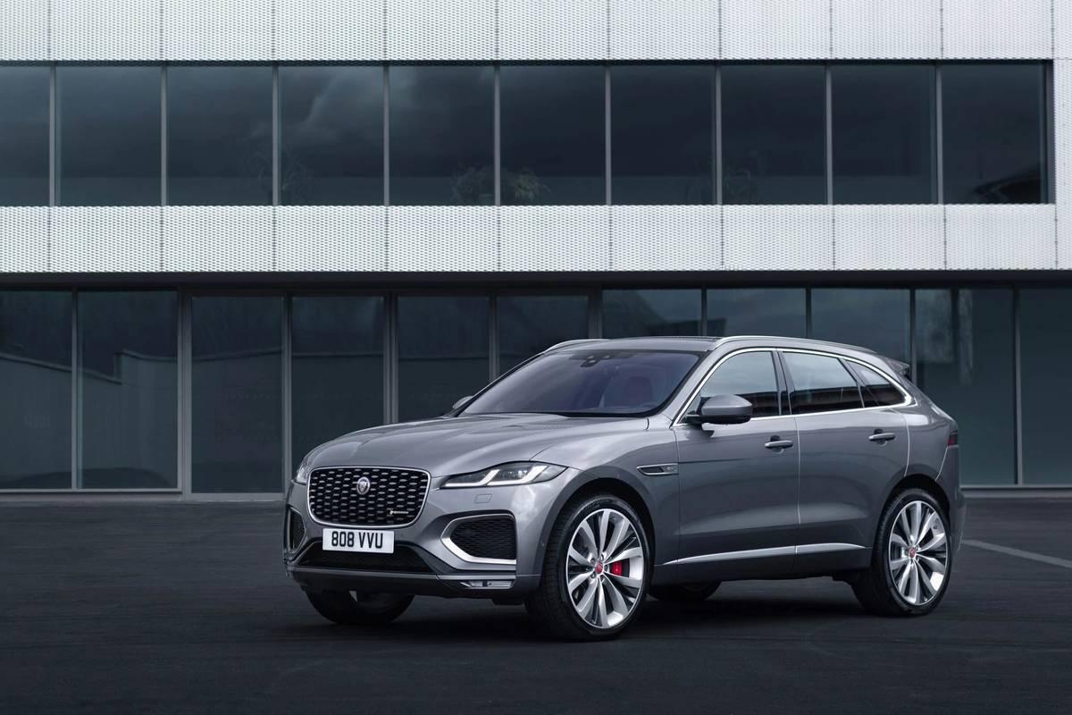 2021 Jaguar F Pace Looks Inward To Improve News Cars Com