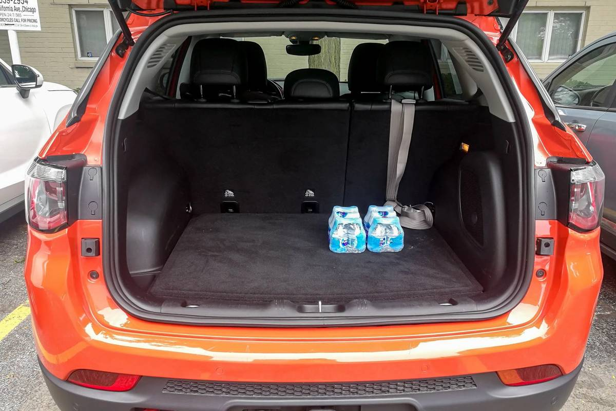 2020 Jeep Compass rear cargo