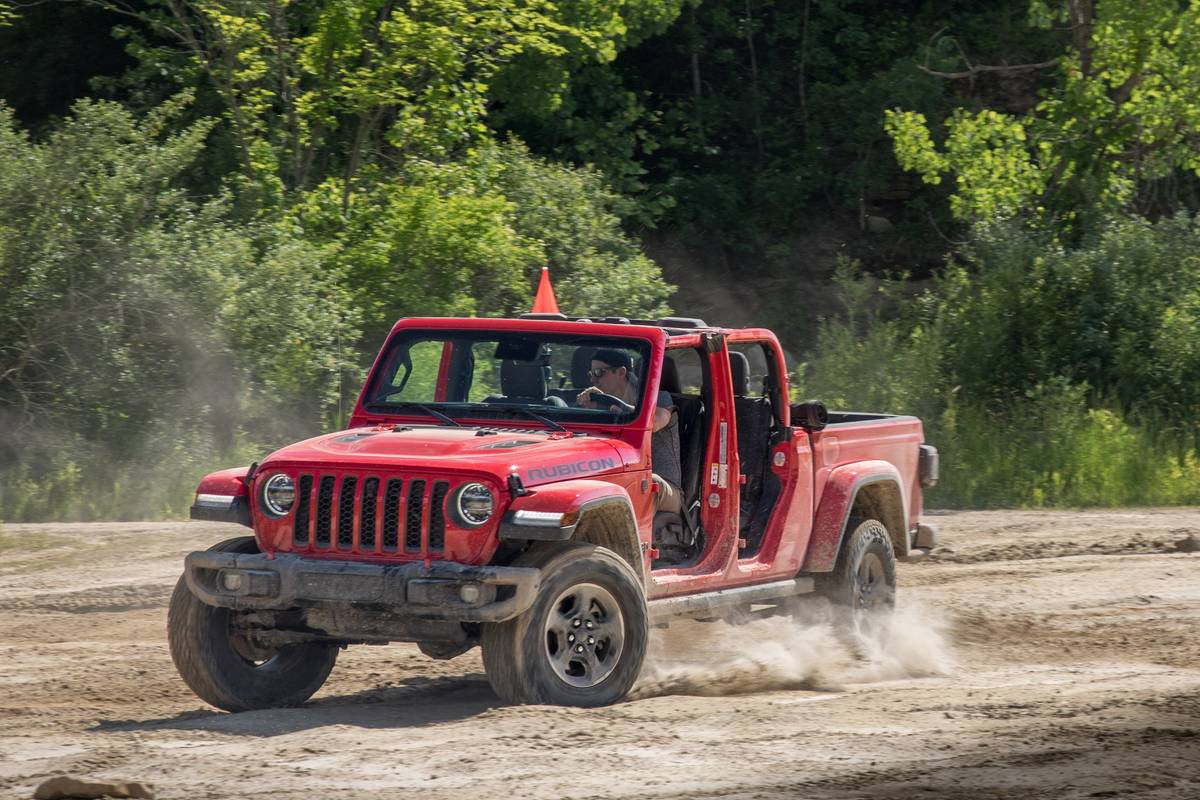 How Do Car Seats Fit in a 2021 Jeep Gladiator?