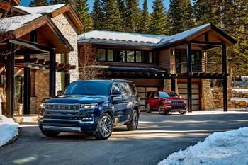 2022 Jeep Wagoneer, Grand Wagoneer: Jeep Goes Big, Luxurious