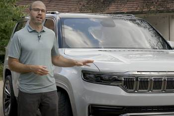 Jeep Grand Wagoneer Concept Video: What We Know So Far