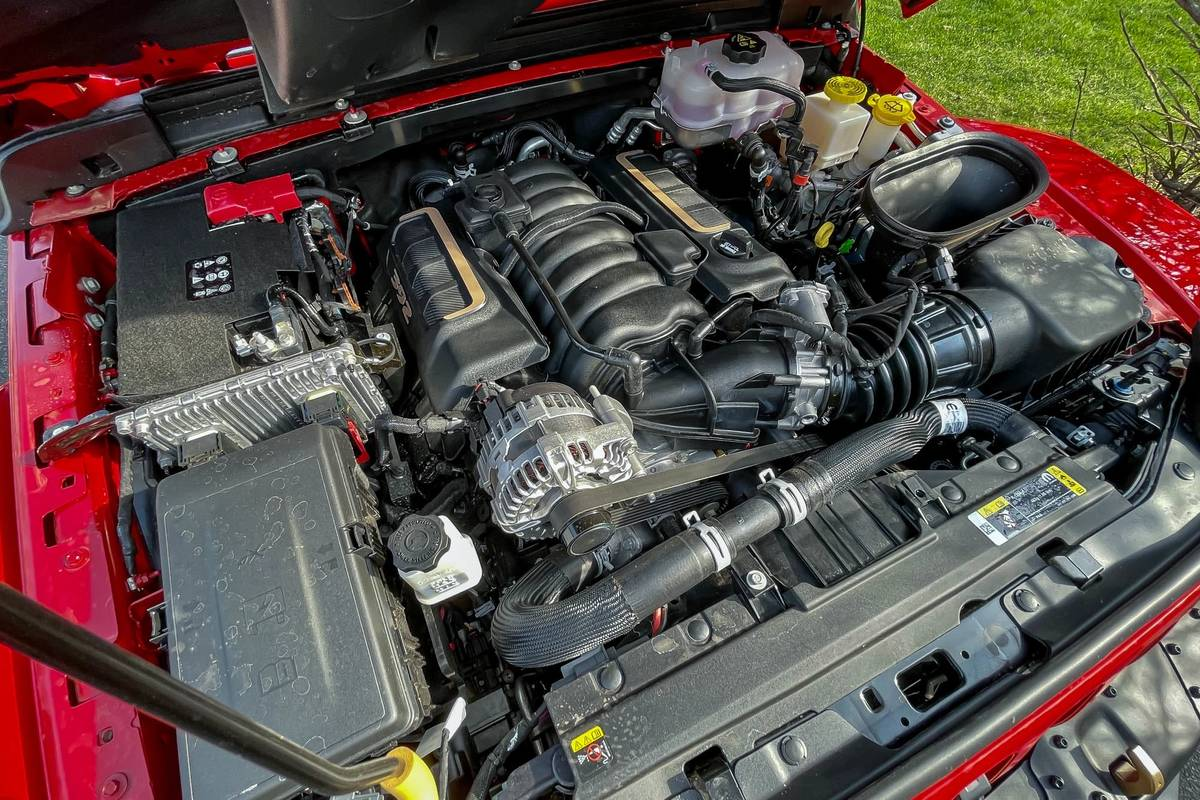 2021 Jeep Wrangler Unlimited Rubicon 392 engine