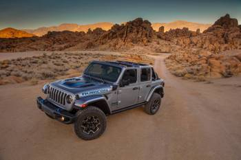 A Whisper In the Woods: Jeep Details the 2021 Wrangler 4xe Plug-In Hybrid