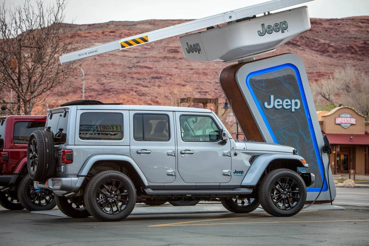Jeep Charging Up Trailheads as Part of Electrification Push, Wrangler 4xe Launch