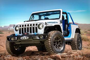 2021 Easter Jeep Safari: Jeep Unveils All-Electric Wrangler Magneto, Other Concepts