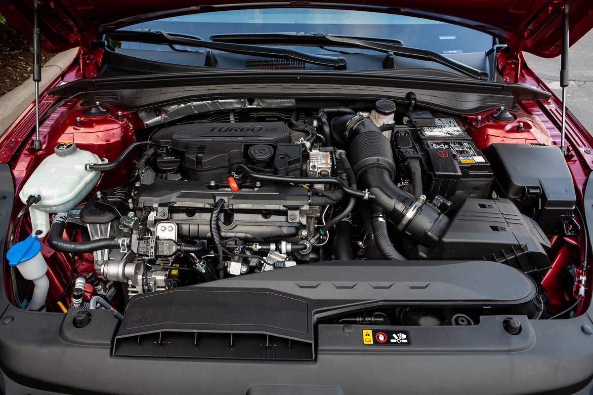 2021 Kia K5 GT Line engine