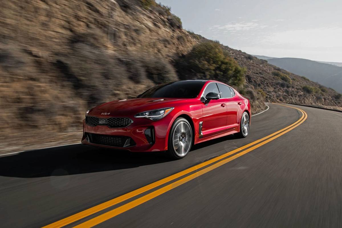Kia Gives 2022 Stinger More Bite With Extra Power, Style