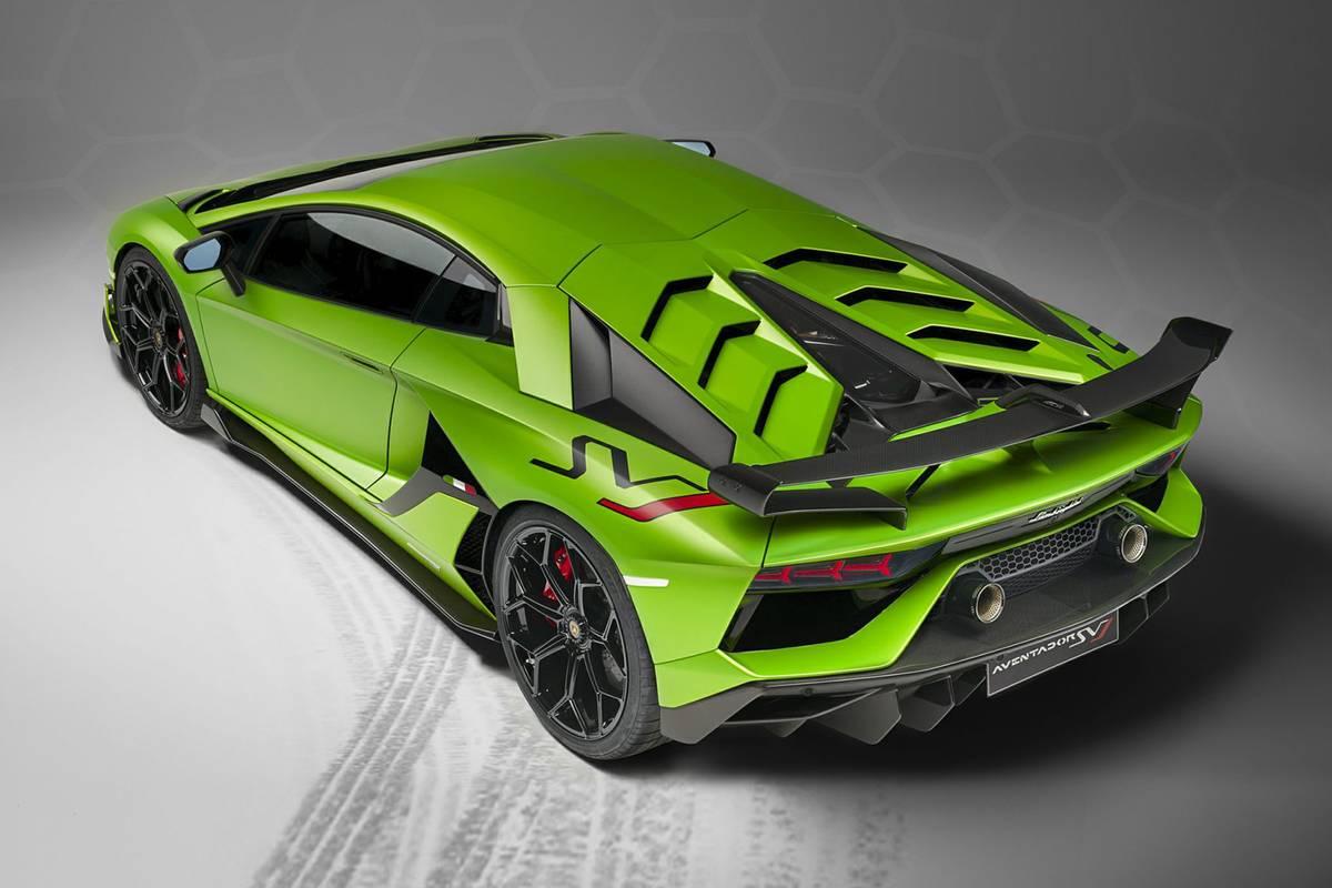 2020 Lamborghini Aventador SVJ: Recall Alert