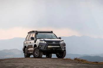 Lexus J201 Concept Is What Every LX 570 (and Toyota Land Cruiser) Dreams of Being