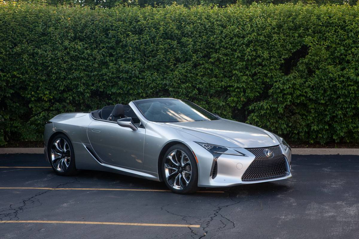 2021 Lexus LC 500 Convertible Review: Robbing Peter to Pay Sol