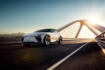 Lexus LF-Z Electrified Concept: A Look at Lexus' Electrified Future