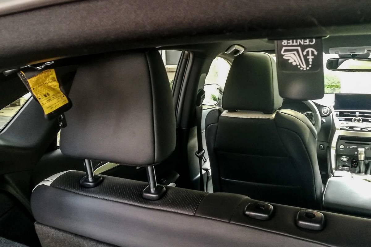2020 Lexus NX 300 rear car seat latch