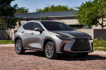 2022 Lexus NX Is Redesigned to Plug-In 'N Play
