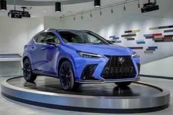 2022 Lexus NX Brings Smart Looks, Smart Tech