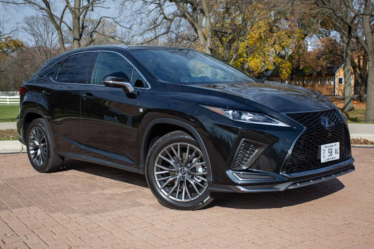 Lexus 2020 RX SUV Family Brings Home Safety Awards, Falls ...