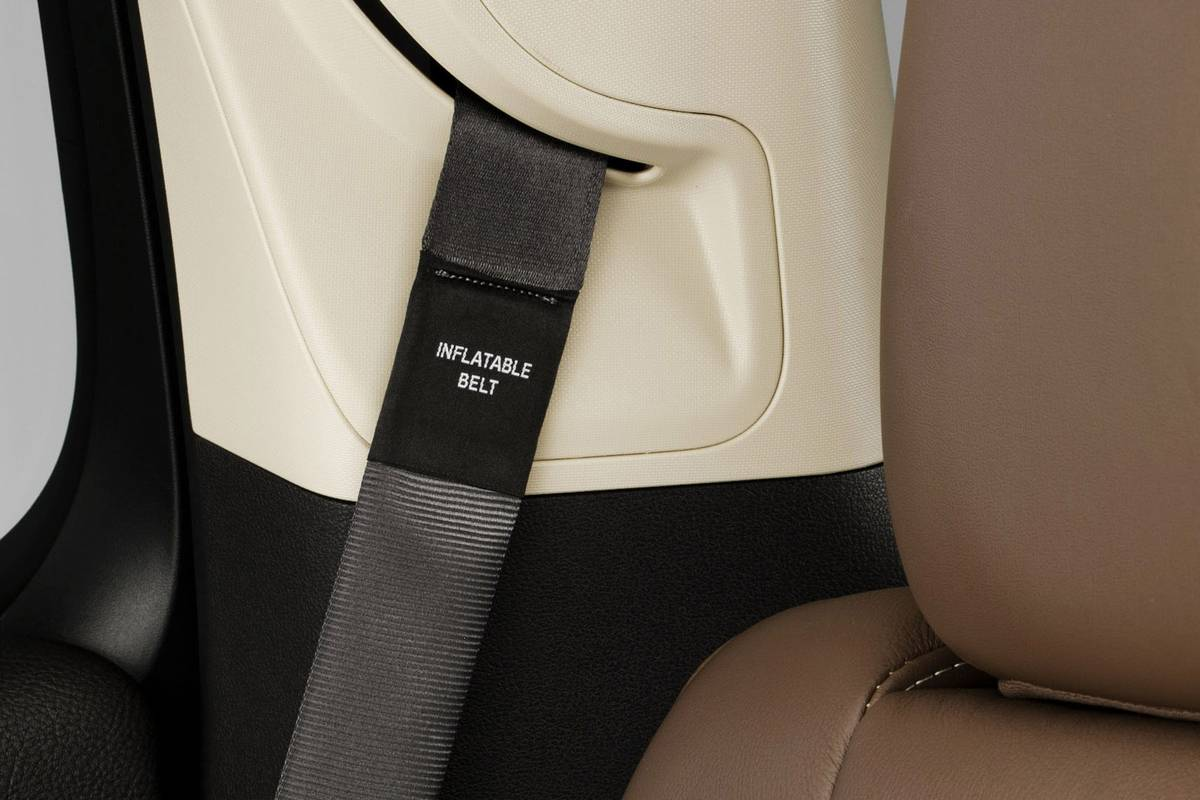 Can My Car Seat Be Used With Inflatable Seat Belts News Cars Com