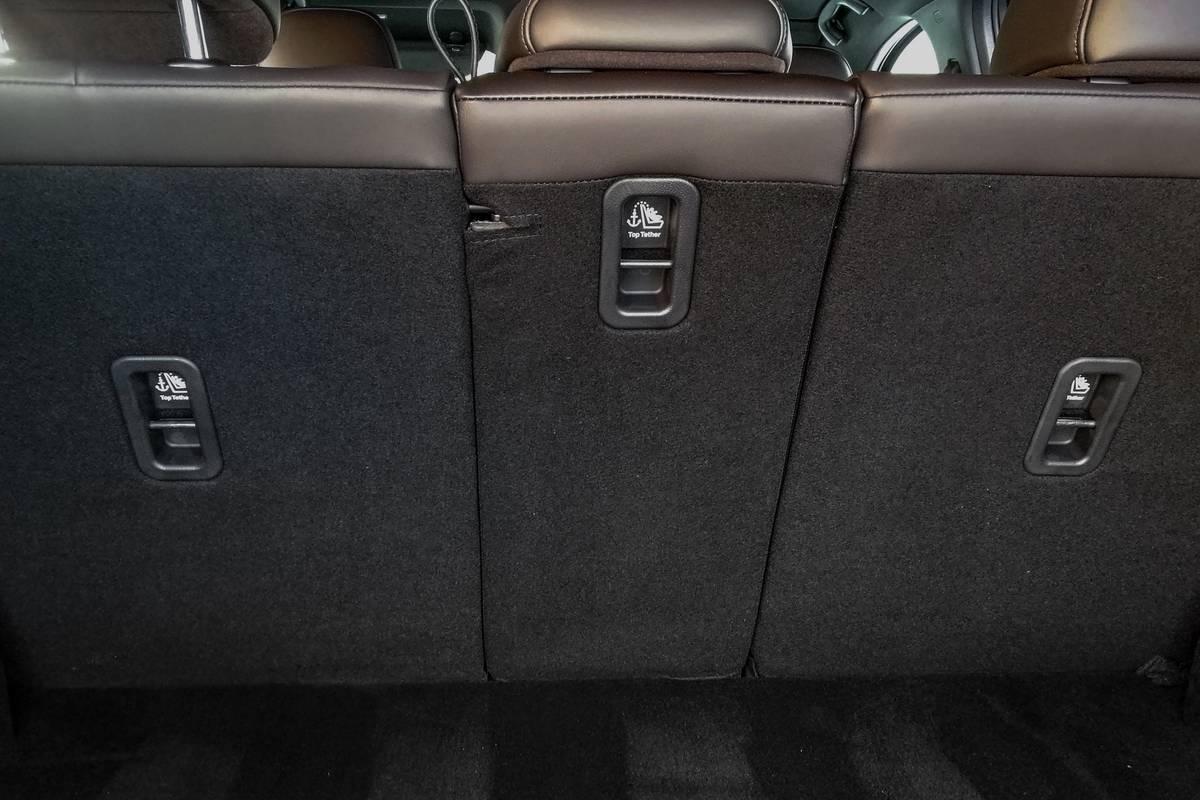 2021 Mazda CX-5 car seat anchors