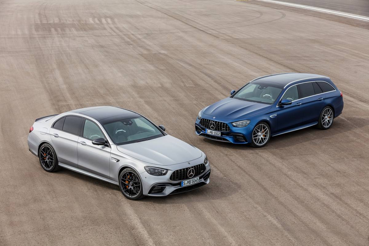2021 Mercedes-AMG E63 S Sedan and Wagon: The Ones We've Been Waiting For
