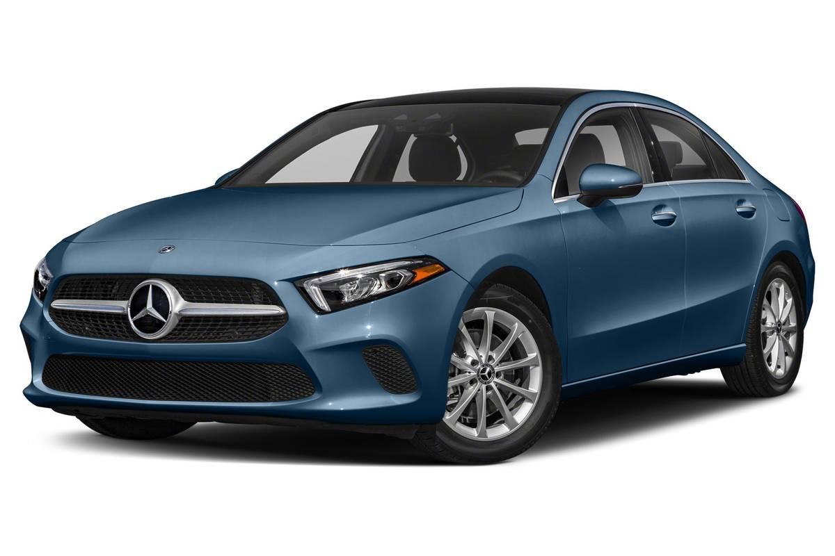 Blue 2019 Mercedes-Benz A220