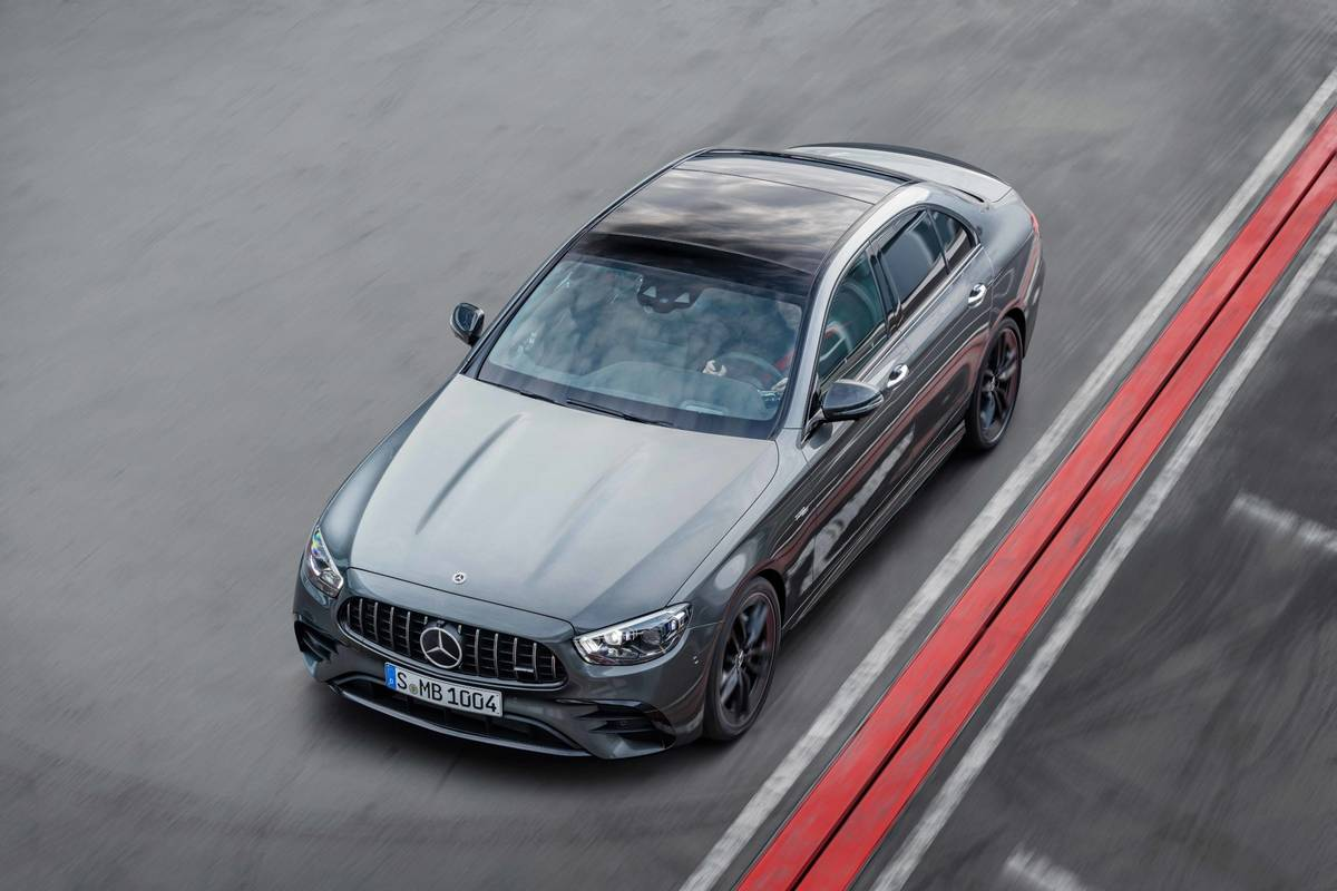 2021 Mercedes-AMG E53: A Meaner Mild Hybrid
